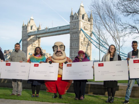 Press Release: £100,000 Christmas present for London charities
